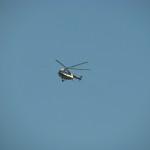 Policyjny helikopter krąży nad Krakowem, bo to bezpieczne miasto