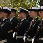Marynarze i ... marynarki ? W kompanii reprezentacyjnej marynarki wojennej są kobiety i mężczyźni
