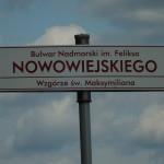 W 2015 r. Bulwar Nadmorski w Gdyni nosi imię Feliksa Nowowiejskiego, autora melodii hymnu do Bałtyku