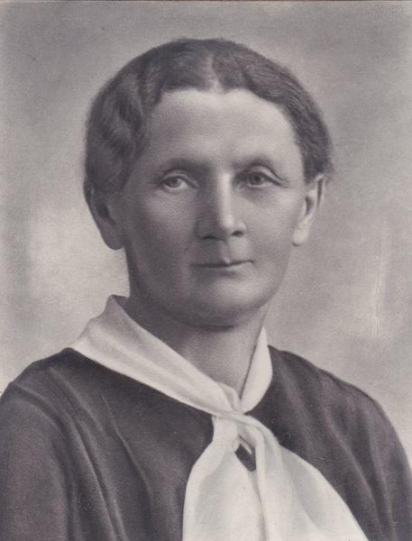 Aleksandra Miąsek, moja prababcia (1878-1946).  Z domu Bankiewiczówna