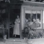 Leokadia, właścicielka pierwszej kwiaciarni w Milanówku