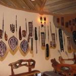Wnętrze domku w Lodge Ambosela.