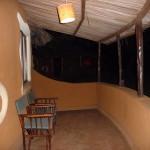 Taras domku w Lodge Ambosela.