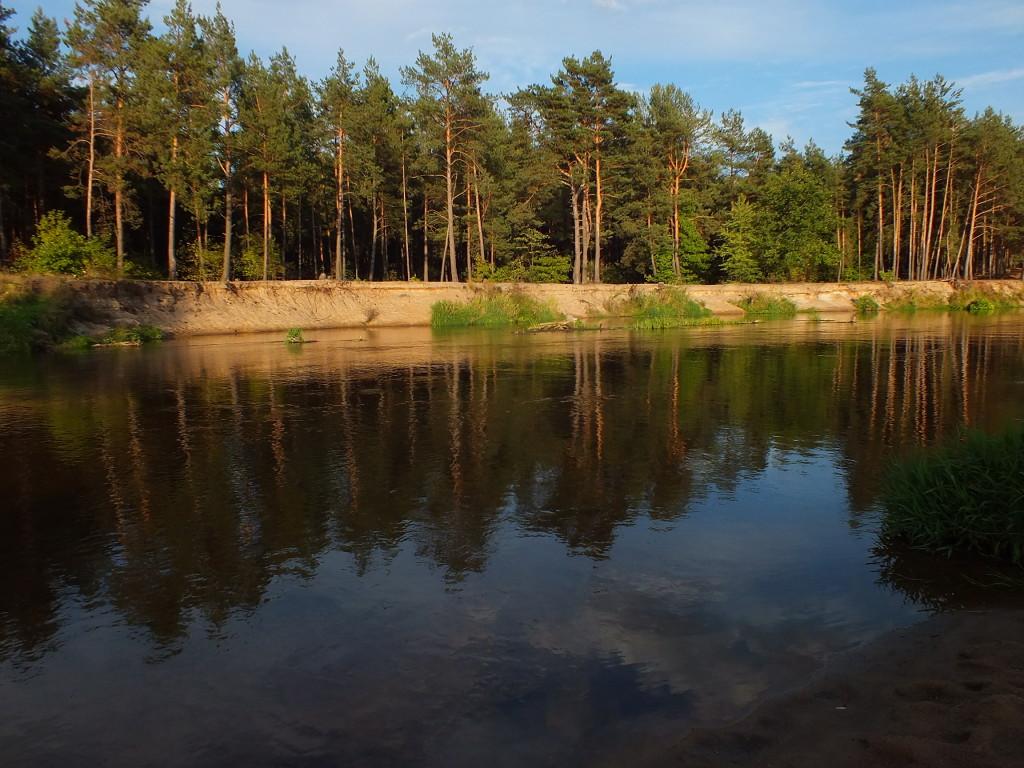 Nad rzeką Liwiec we wrześniu
