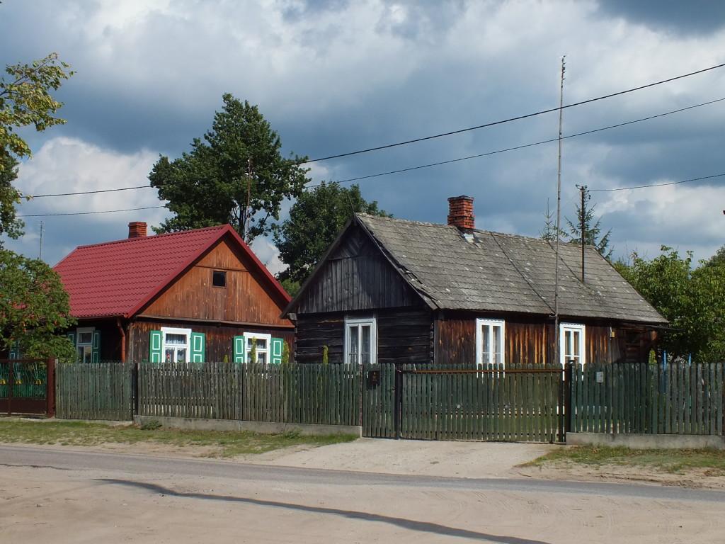Strachów. Ulica Bitwy Warszawskiej  1920