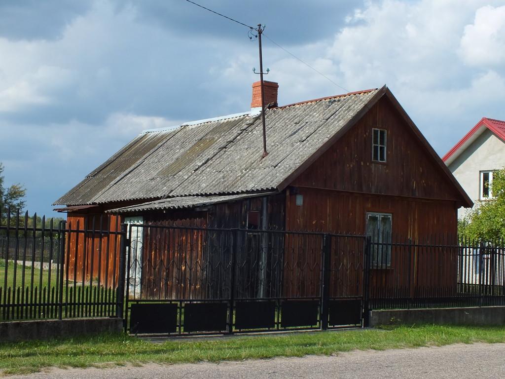 Drewniane domy w Strachowie