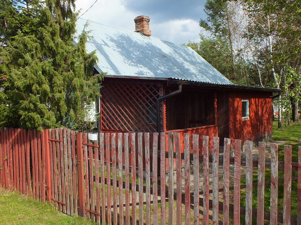 Weranda w nadbużańskim domku