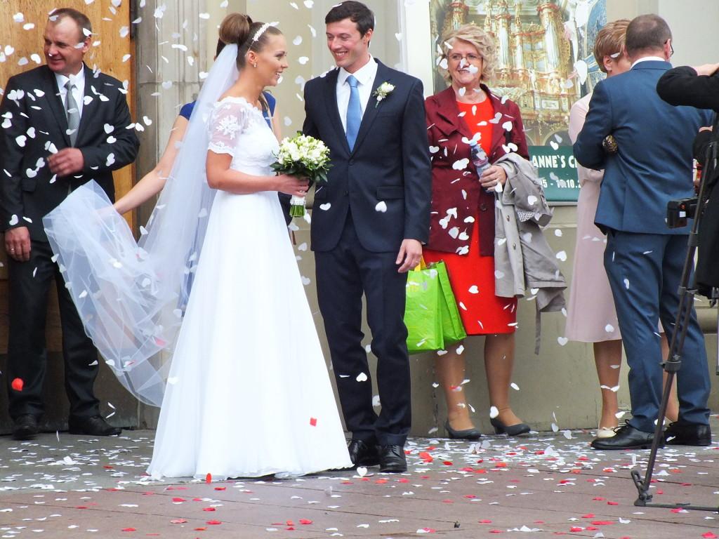 Ślub na Krakowskim Przedmieściu