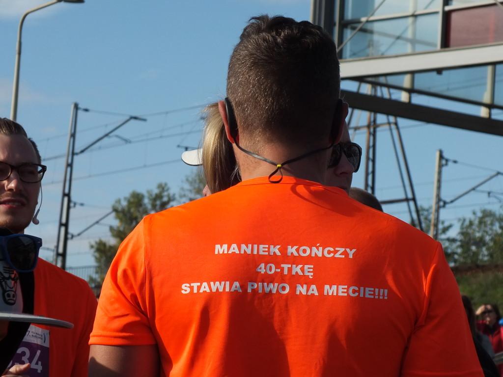 37. PZU Maraton Warszawski. Jeszcze tylko 42 km i 195 m biegiem i już będzie browar!