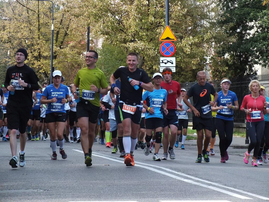 37. PZU Maraton Warszawski. Uśmiech na twarzy po ponad dwóch godzinach wysiłku.