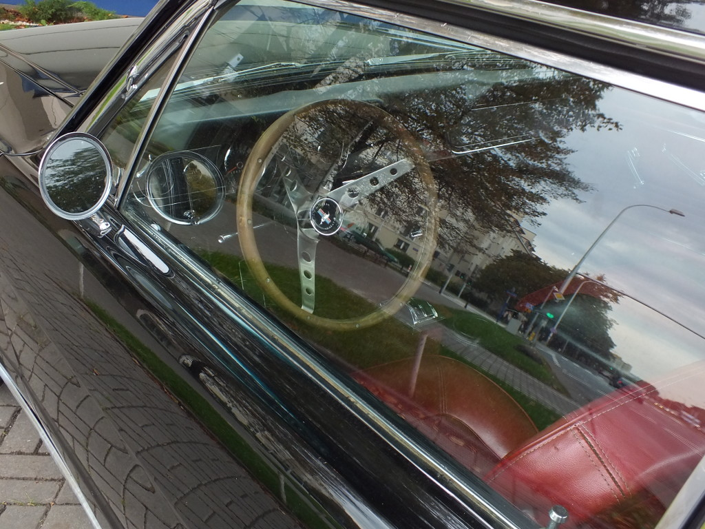 Wszystkie typy forda mustanga wyposażono w tzw. pedały zawieszone.