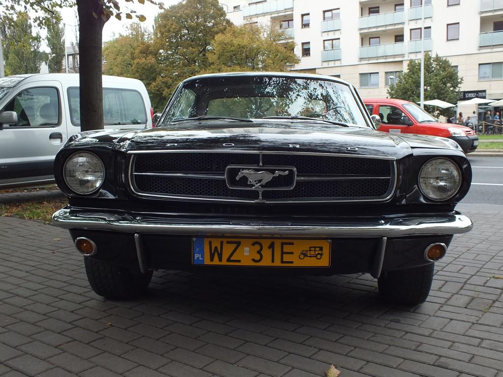 """Cztery typy forda mustanga w 1964 roku: – ekonomiczny,  z oznaczeniem """"170"""",  101 koni mechanicznych, wyposażony w sześciocylindrowy silnik rzędowy, oraz trzy typy z ośmiocylindrowymi silnikami widlastymi: – """"260 V8"""" – 164 KM – """"289 V8"""" – 210 KM  – """"289 High Performance V8 – 271 KM"""