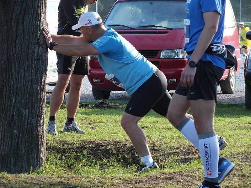 37. Maraton Warszawski. Rozgrzewka.