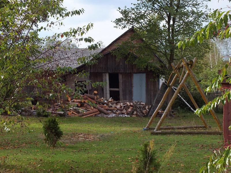 Taka stodoła, to dla mnie wspomnienie wakacji. Nie na Mazowszu a na Orawie, ale wspomnienie piękne