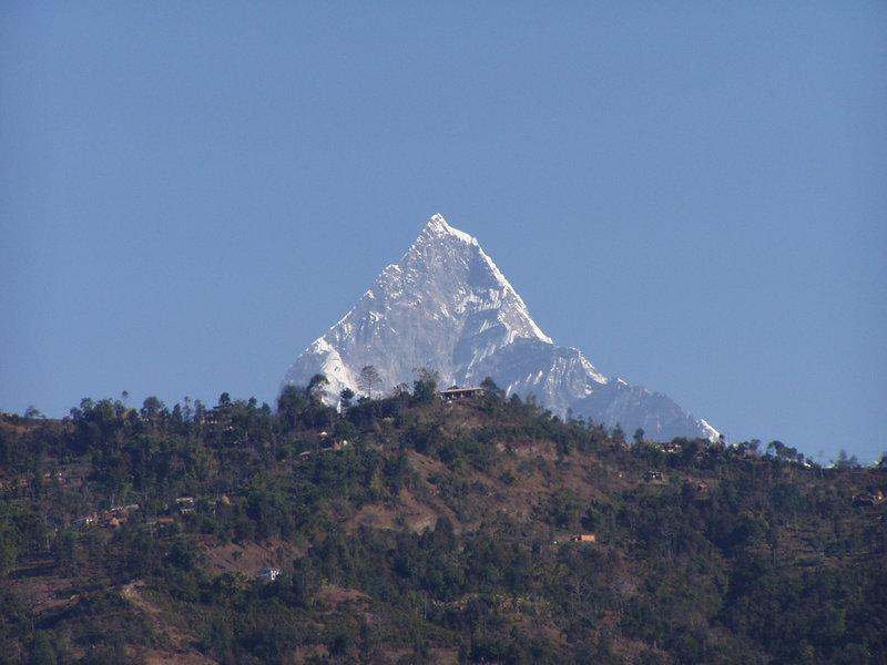 Annapurna - 8091 m n.p.m., dziesiąty co do wysokości ośmiotysięcznik Ziemi.