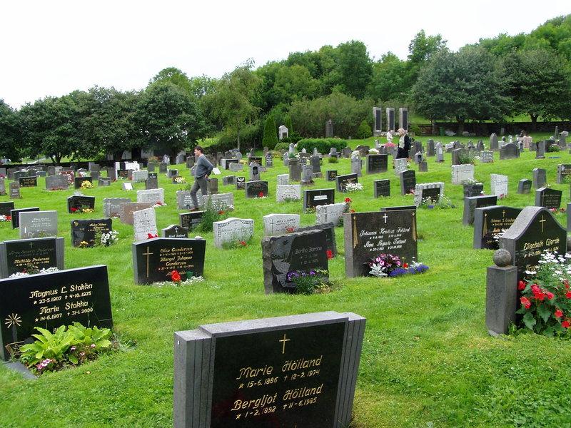 Cmentarz ewangelicki na Boemlo w Norwegii.