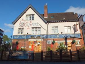 New Union Street.A tu wesoły budynek w pełni okazałości. Coventry