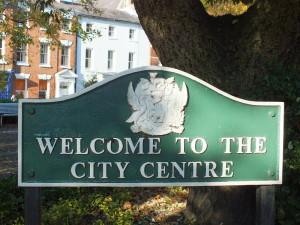 Jak widać Coventry ma też urzędowe centrum.