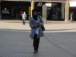 Na Broadgate w Coventry.