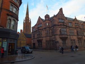 The Council House z Wieżą Katedry św. Michała w tle.