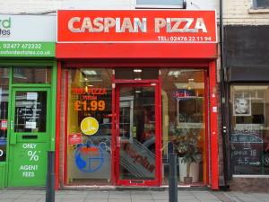 Far Gosford Street, lokalna pizza