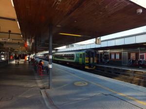Kolejowa stacja w Coventry