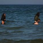 Bohaterki 30 kwietnia 2016 roku. Weszły dziewczyny do zimnej wody!