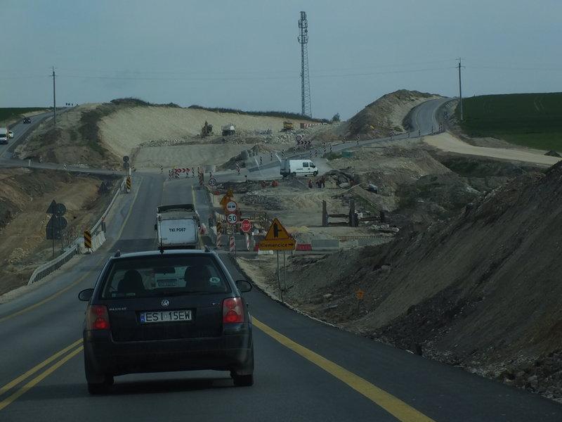 Droga E7 w rozbudowie