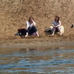 Lądowe dziewczyny tuż na przedmieściach Brodnicy.