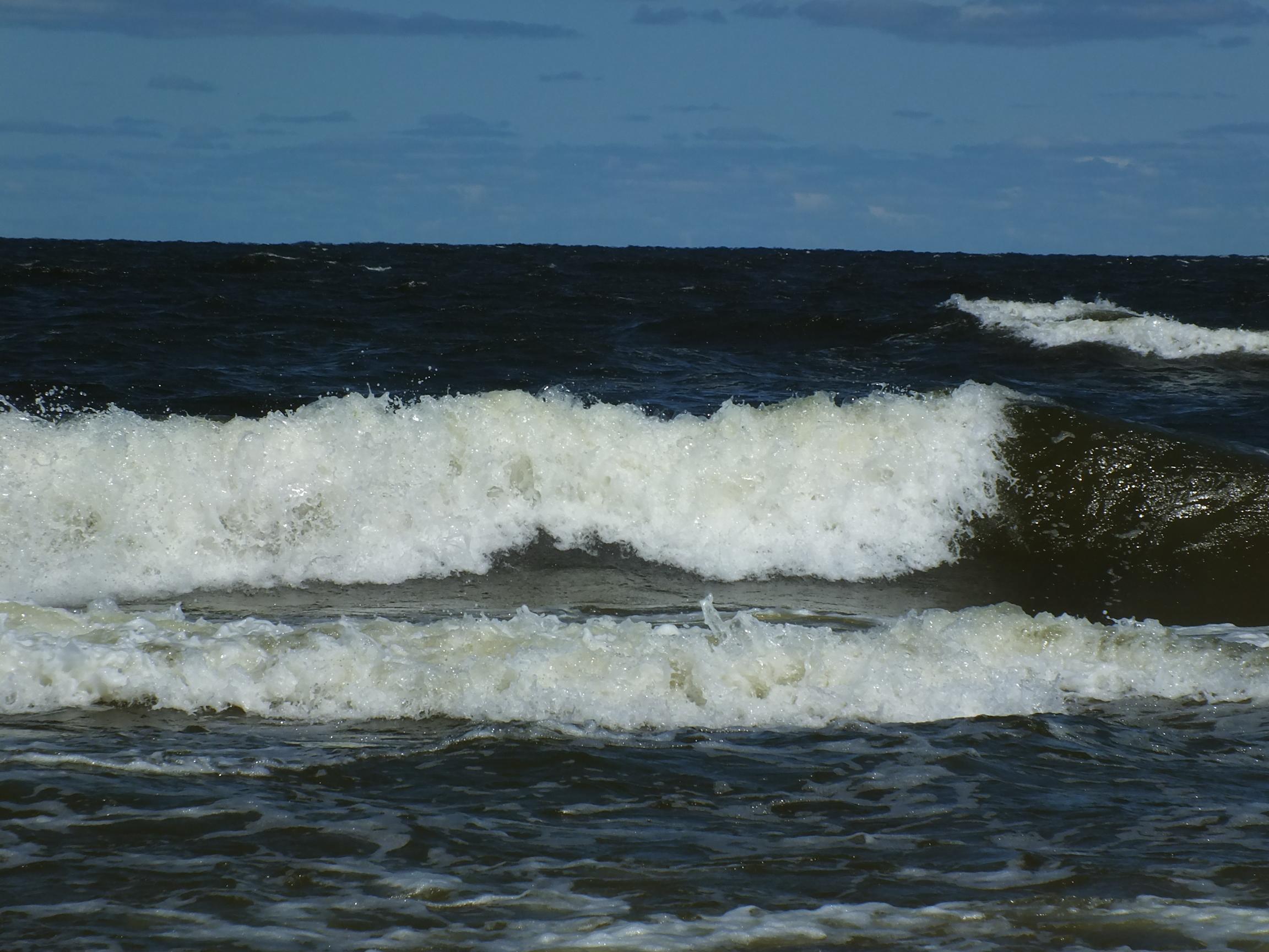 Wielka fala na wyspie sobieszewskiej