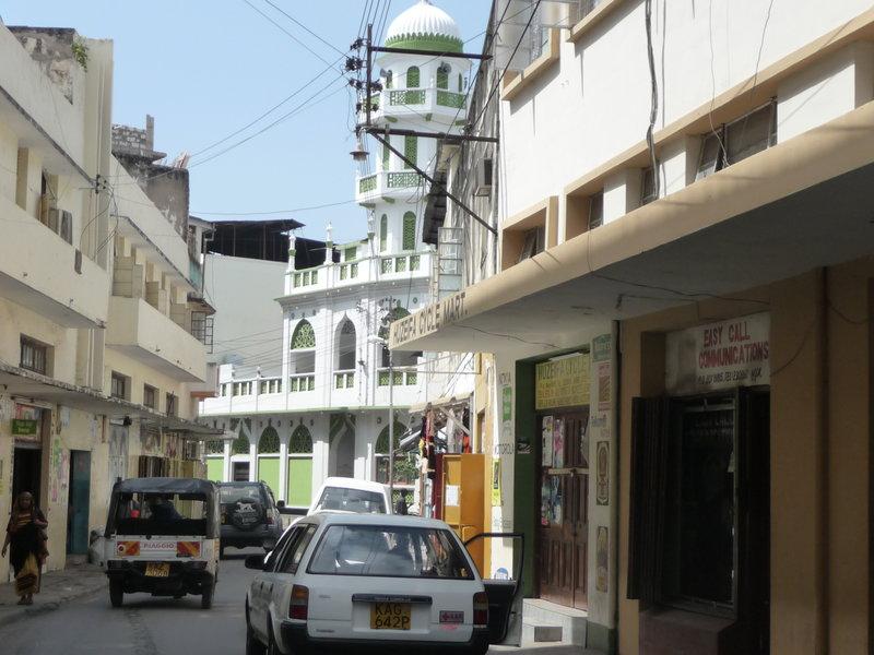 Ulica w Mombasie