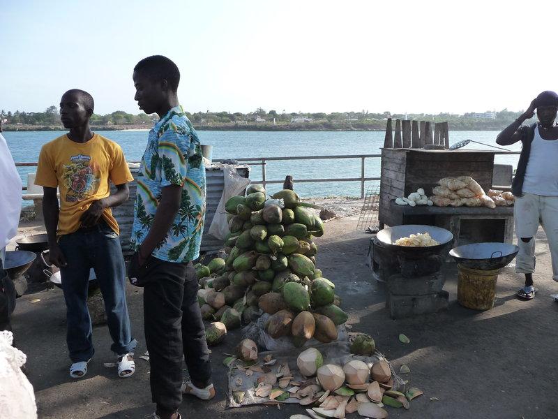 W pobliżu nowego portuw Mombasie